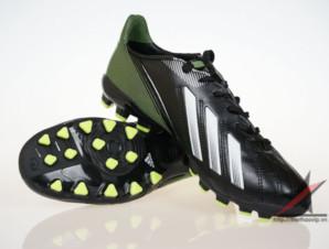 Giày đá bóng Adidas adizero f50 AG đen xanh_big_0