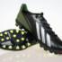 Giày đá bóng Adidas adizero f50 AG đen xanh_small_0