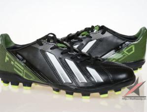 Giày đá bóng Adidas adizero f50 AG đen xanh_big_2