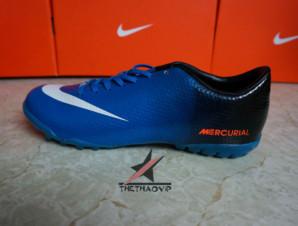 Giày bóng đá Nike Mercurial Vapor Superfly IX TF Xanh_big_1
