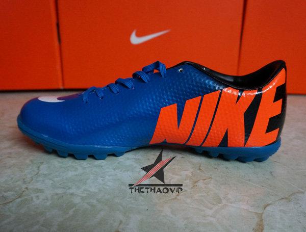 Giày đá bóng Nike Mercurial Vapor Superfly IX TF Xanh