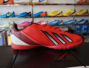 Giày đá bóng Adidas adizero f50 TF màu Đỏ_big_1