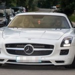 Anderson turns up in his £168,395 SLS